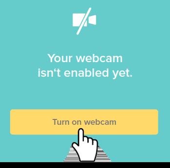 turn on webcam_telemedicine_visit