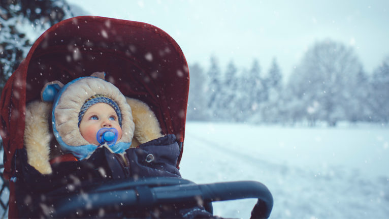 baby in the winter, primary care physician
